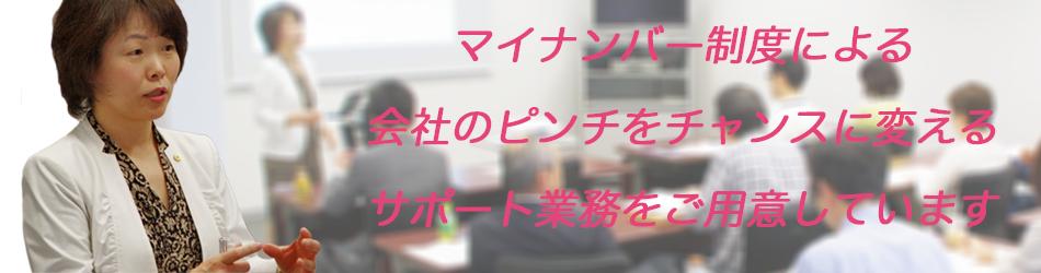 横浜たなべ社労士事務所 マイナンバー制度対策サポート業務一覧